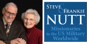 Steve and Frankie Nutt to US Military Worldwide