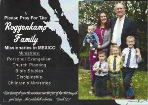 Roggenkamp Family to Mexico